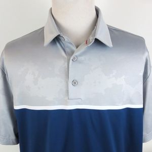 Under Armour Heat Gear ColdBlack 2XL Polo Shirt